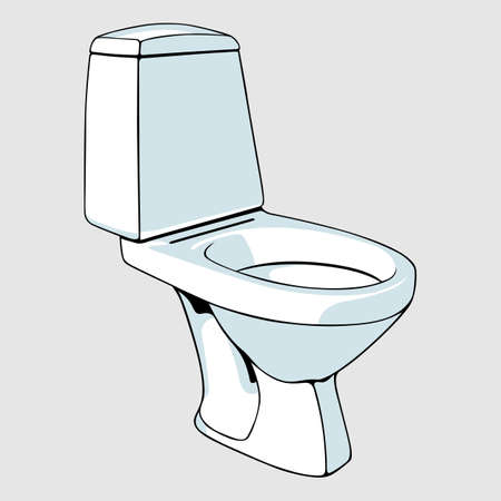 Toilet bowl Stock Vector - 13611000