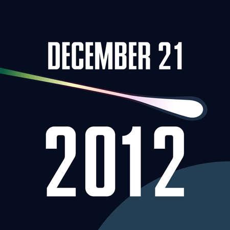 last year: 21 december 2012 Illustration