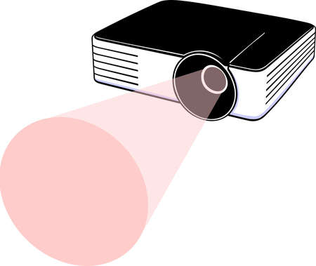 projections: Video projector