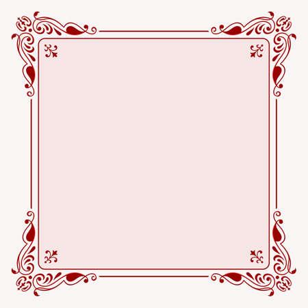 Elegance frame Illustration
