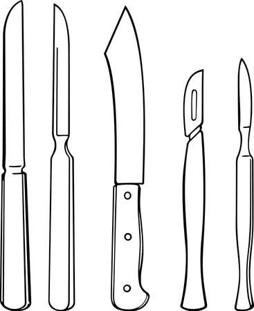 scalpel: Surgical instruments