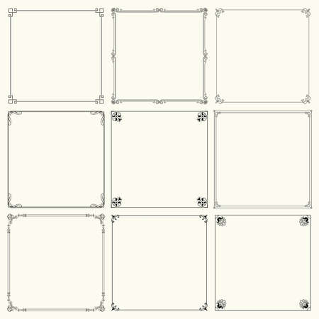 Decorative frames  Çizim