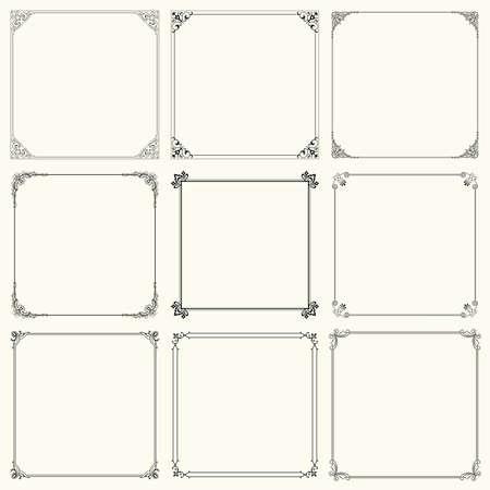 Decorative frames Stock Vector - 13814392
