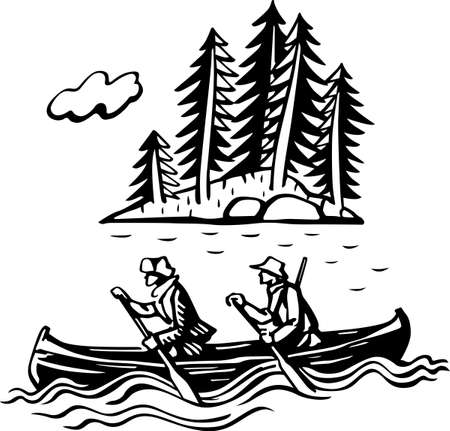 hunters: Hunters in the boat