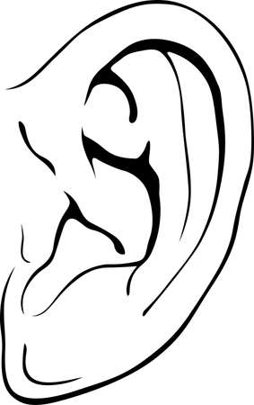 Human ear Stock Vector - 14750933