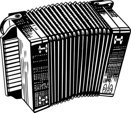 Musical instrument accordion