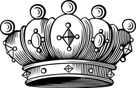 corona: Crown Illustration