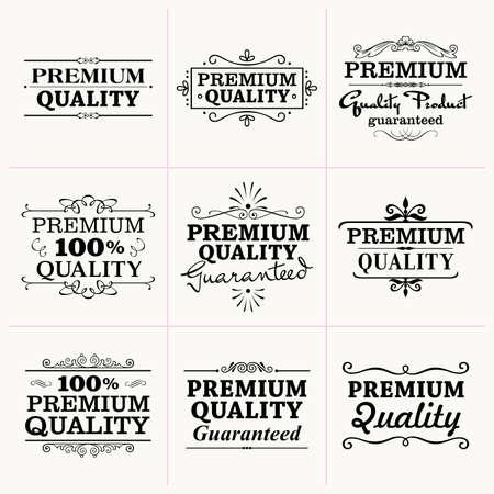 label: Premium Quality collection