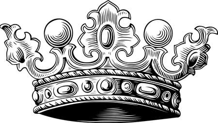royalty: Crown Illustration