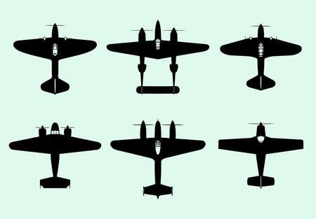 avia: Set of airplanes