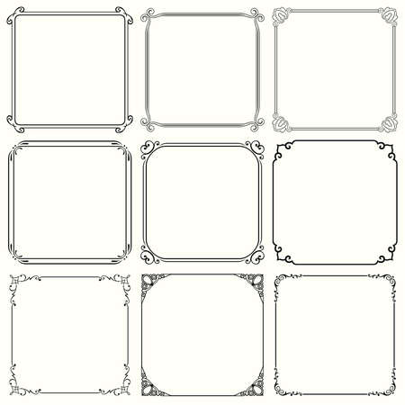 34: Decorative frames  set 34