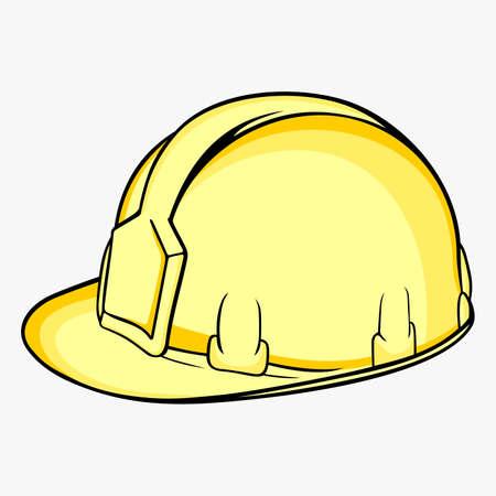 hombre con sombrero: Construcción Casco