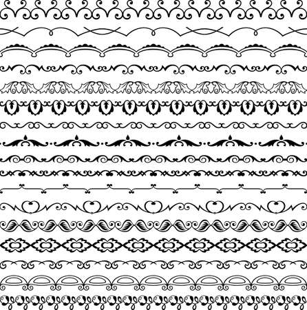 Design horizontal elements Stock Vector - 16901386