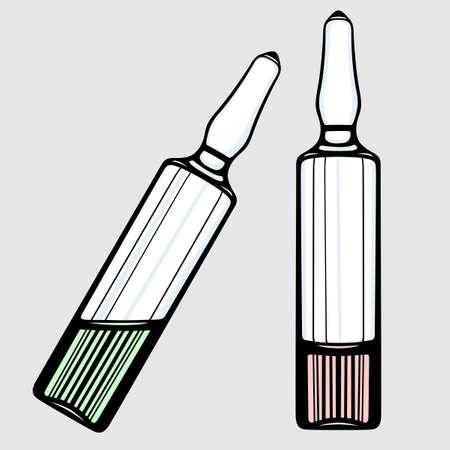 Ampoules Illustration