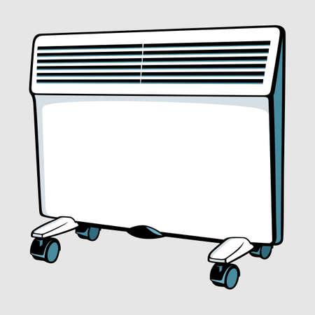 calentador: CONVECTOR Vectores