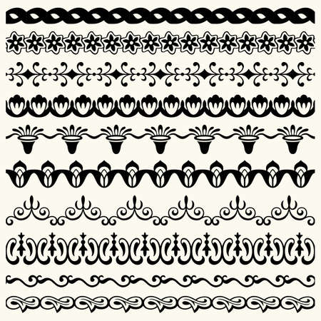 Design horizontal elements Stock Vector - 17266038