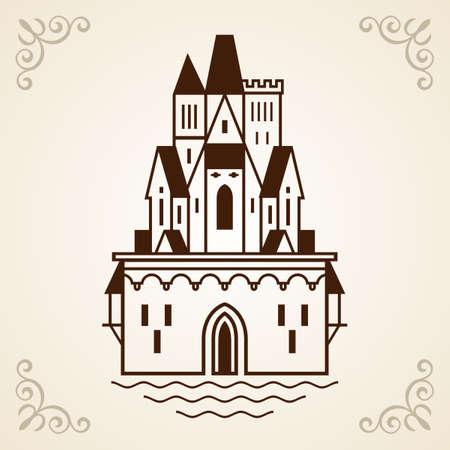 Castle frame Stock Vector - 17396763