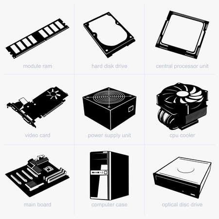 disco duro: Componentes de PC