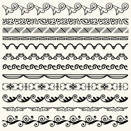 Design horizontal elements Stock Vector - 17478444