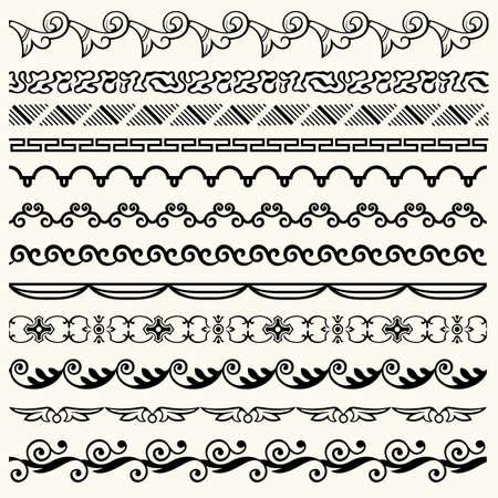 Design horizontal elements Stock Vector - 17478444