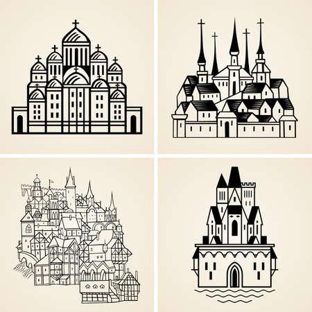 Alte Städte