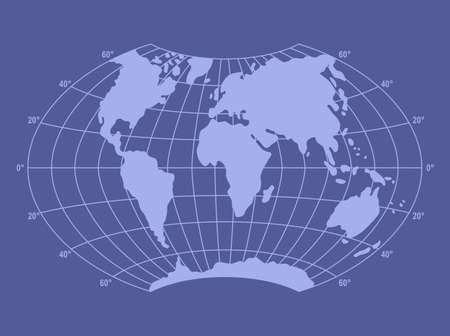 graticule: World map with graticule