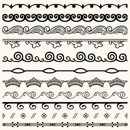 Design horizontal elements Stock Vector - 17774817