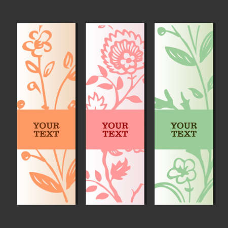 Glamour invitation or greeting card  Vector