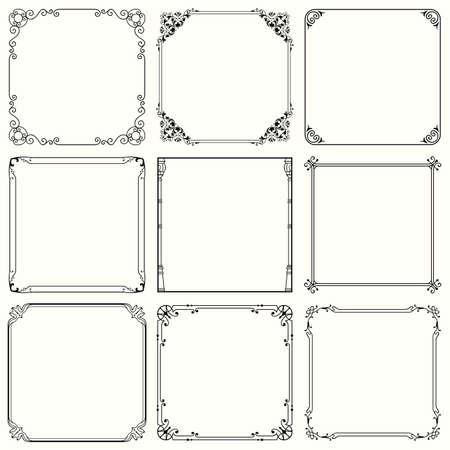 Decorative frames  set 43