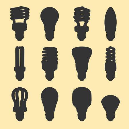 Light bulbs Stock Vector - 18085009
