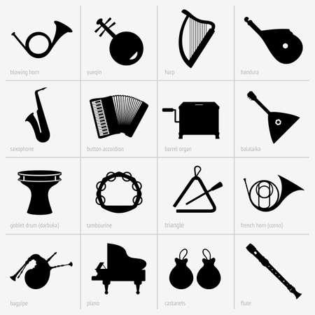 darbuka:  Set of musical instruments