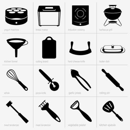 Kitchenware  part 3   イラスト・ベクター素材