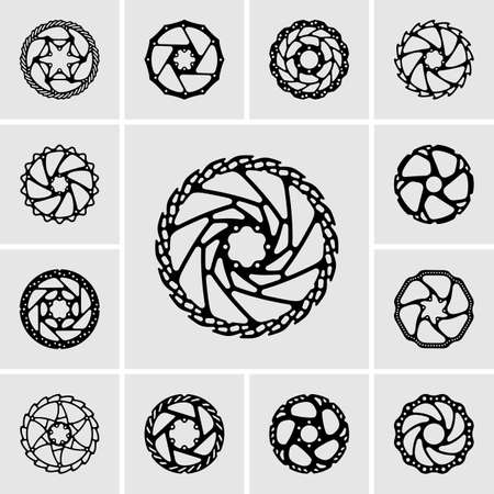 rotor: Set of rotor icons