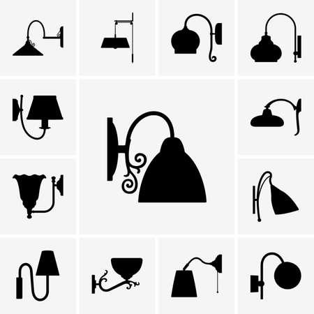 sconce: Iconos de la l�mpara de pared