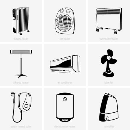 heater: Heating and air conditioning devices