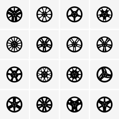 Set of Car rims