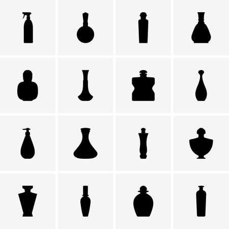 perfume: Set of Perfume bottles