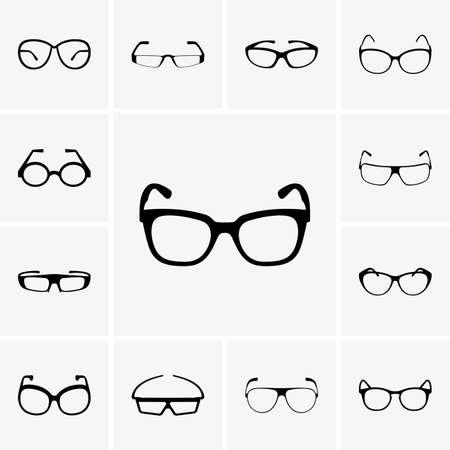 eye glasses: Set of glasses
