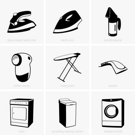 Set of cleaning tools Stock Vector - 21429948