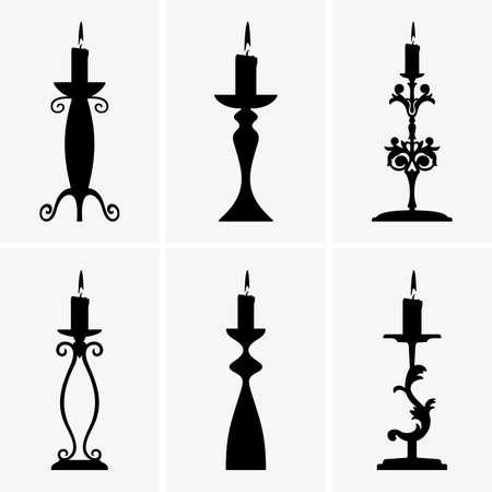Candlesticks Illustration