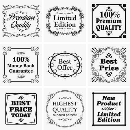 edizione straordinaria: Badge Vintage