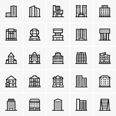buildings: Civil buildings Illustration
