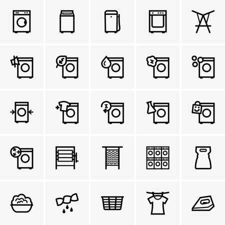 lavanderia: Iconos lavandería