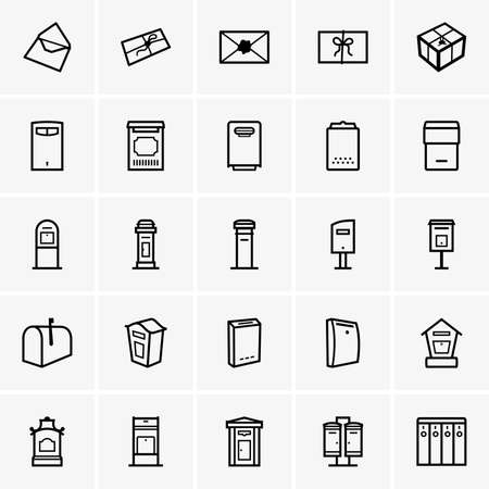 Mailboxes icons