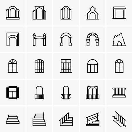 Portes et les fenêtres Banque d'images - 28526862