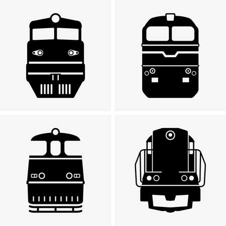 locomotive: Diesel locomotives Illustration