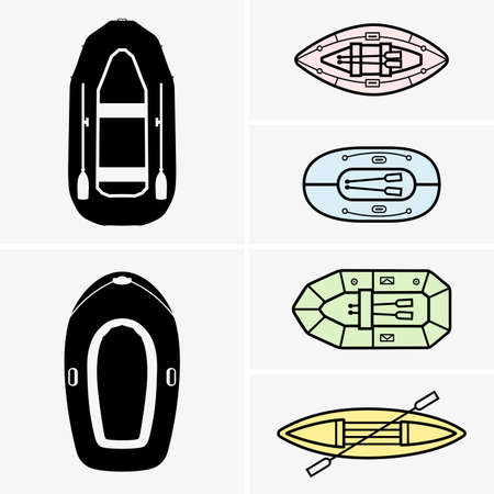 raft: Inflatable boats
