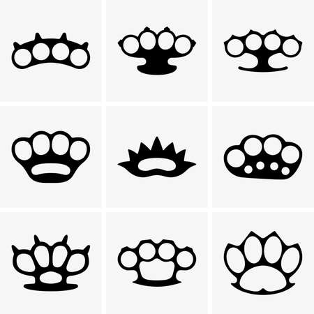 knuckles: Brass knuckles
