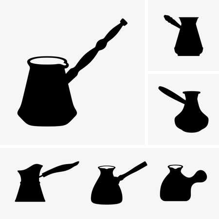 coffeepot: Cezves Illustration