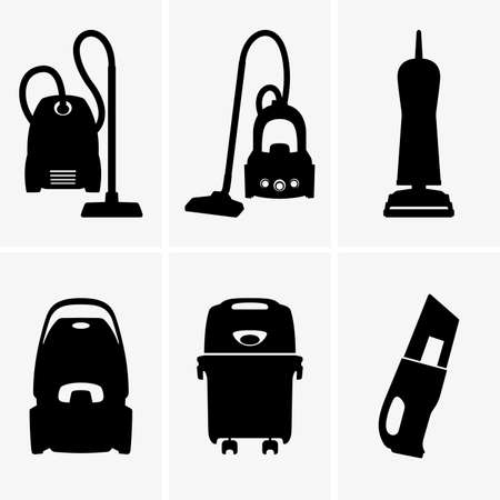 vacuum cleaner: Vacuum cleaners Illustration